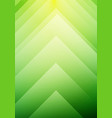 abstract green ecology arrows direction concept vector image