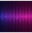 Abstract sound wave vector image vector image