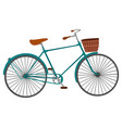 bicycle for men isolated on white background vector image vector image