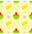 Dessert food pattern seamless patterns vector image vector image