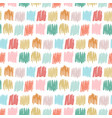 primitive seamless pattern with freehand squares vector image vector image