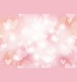 valentines day seamless abstract background vector image vector image