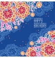 Postcards Birthday vector image