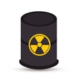 atomic industry isolated icon vector image vector image