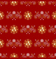 christmas pattern seamless new year wrapping vector image vector image
