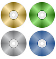 compact discs vector image vector image