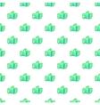 Green paintball glove pattern cartoon style vector image vector image