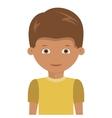 Happy boy cartoon design vector image