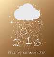Happy New Year for your backgrounds vector image