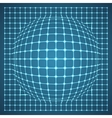 Illuminated Grid Sphere vector image