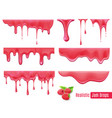 jam drops set vector image