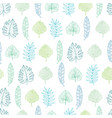 Light green and blue geometrical tropical