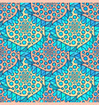 ornamental arabic pattern abstract mosaic vector image vector image