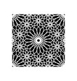 pattern geometric islamic background template art vector image vector image