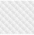 geometric white pattern vector image