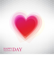 Abstract heart by Valentines Day vector image vector image