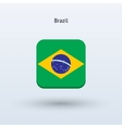 Brazil flag icon vector image