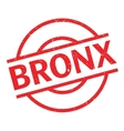 Bronx rubber stamp vector image vector image