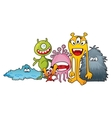 Monster characters vector image vector image
