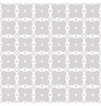 seamless geometric ornament grid pattern abstract vector image vector image