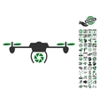 Shutter Spy Airdrone Icon With Bonus vector image vector image
