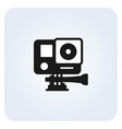 simple action camera icon vector image
