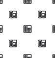 telephone seamless pattern vector image