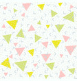 abstract pattern blue background with green pink vector image vector image