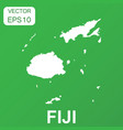 fiji map icon business concept fiji pictogram on vector image vector image