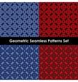 Geometric seamless patterns EPS 10 vector image vector image