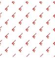 Red paintball gun pattern cartoon style vector image vector image
