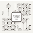 Set of seamless pattern of wavy lines vector image
