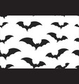 bats wrapping paper seamless pattern for halloween vector image vector image