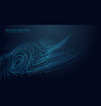 music abstract background blue data technology