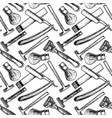 pattern with razor vector image