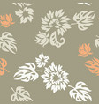 plants seamless pattern wallpaper vector image vector image