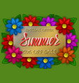 summer sale special offer golden and red gradient vector image