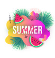 summer sale trendy banners modern backgrounds vector image