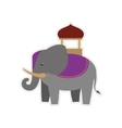 Elephant as Sacred animal icon Indian Culture vector image vector image