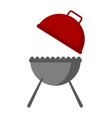 isolated bbq grill icon vector image