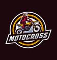 motocross badge logo