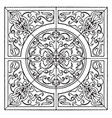 renaissance square panel is a modern german vector image vector image