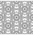Snowflake hand drawn doodle vector image vector image