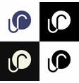ur logo vector image