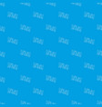 word haha pattern seamless blue vector image