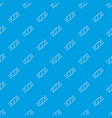 candy pattern seamless blue vector image vector image