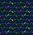dark seamless pattern with leaves vector image vector image