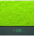 Green Slime vector image vector image