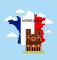 happy bastille day france vector image