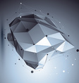 Modern digital technology style abstract vector image